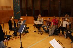 Horn og tromboner.