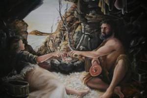 Maleri av Marit Eiksund
