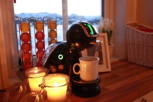 Kaffen er snart klar.