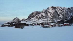 Herlige skiforhold. Foto: TB