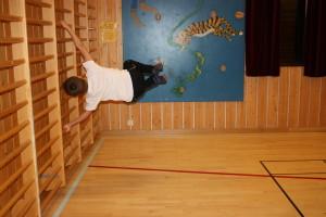 Kroppskontroll i ribbevegg