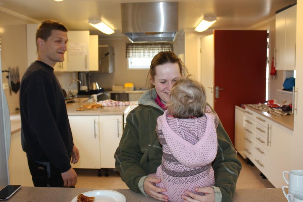 På Urdkjøkkenet ble det laget vafler, kaffe og saft.