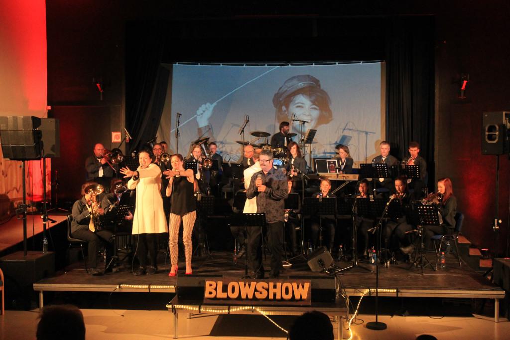 Meløy hornmusikk i stort show på Nesna samfunnshus