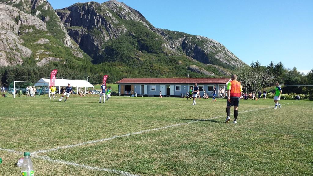 Fra herrefinalen mellom Brommapojkarna og FK Lyskestrekk. Foto: TB