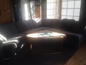 Ny sofa.