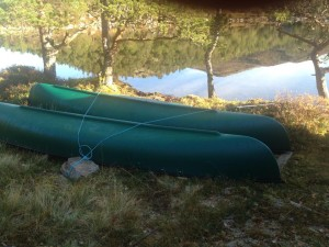 Og to nye kanoer.