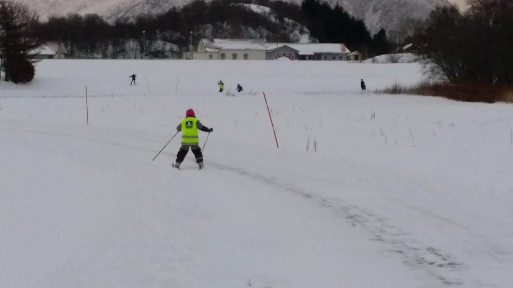 Store og små har fått tatt i bruk skiene sine.