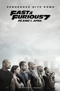 Fast & Furious 7 (norsk plakat)