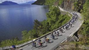 Elever på skolen deltar i sykkelritt onsdag 26.august mellom kl 12.30 og 13.45