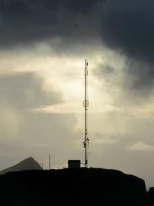 Kolpilten er en høyaktuell plassering av 4G senderen om Meløy skulle vinne konkurransen.