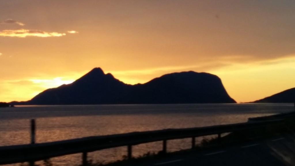 Glomfjordpendleran har fin utsikt på noen av heimturan sine.