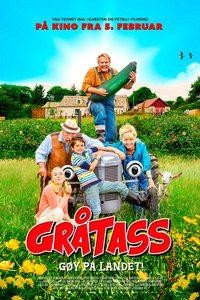 Gråtass - gøy på landet (plakat)