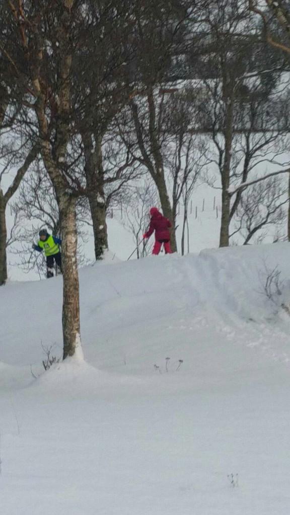 Selv om vinteren til nå stort sett har regnet bort har det vært et par gyldne muligheter til å fure i Skarsbakken.