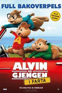 Alvin og gjengen- I Farta (plakat)