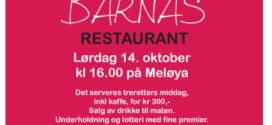 Påmelding Barnas restaurant