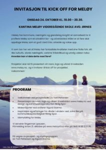 Kick off for Meløy @ Kantina Meløy VGs