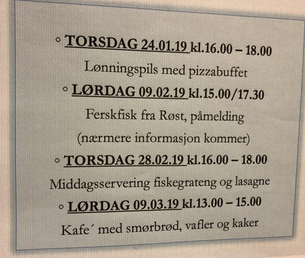 Middagsservering @ Prestegårdsfjøsen